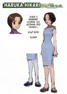 Haruka Hikari concept art