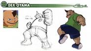 Dex Oyama concept art
