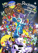 Celebrates 33 years of Mega Man art by Hitoshi Ariga