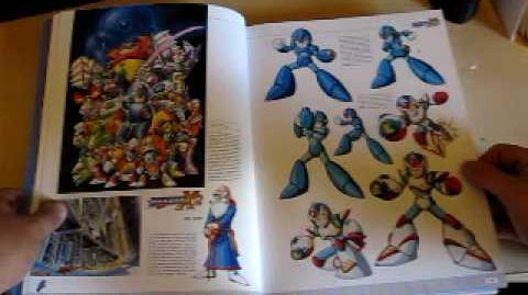 First Review Mega Man X Official Complete Works Book