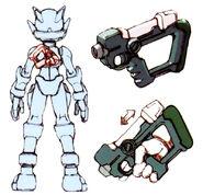 MMZ Buster Shot concept