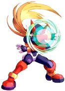 MMZ Zero (Shield Boomerang)