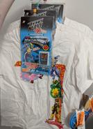 MegaMan NT Warrior shirt