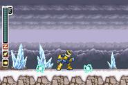 MMZ3 Saber Smash Thunder Sparks