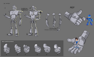 Mega Man Fully Charged Principal 100100 Concept B