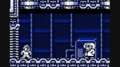 Gameboy Mega Man 3 Defeating Punk