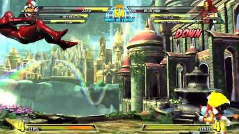 Marvel vs. Capcom 3 - Zero Gameplay Trailer