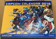 Capcom Calendar 2018