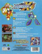 Mega Man X4 (PC) (EU) back