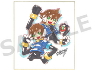 Rockman Zero & ZX Double Hero Collection Limited Edition illustration
