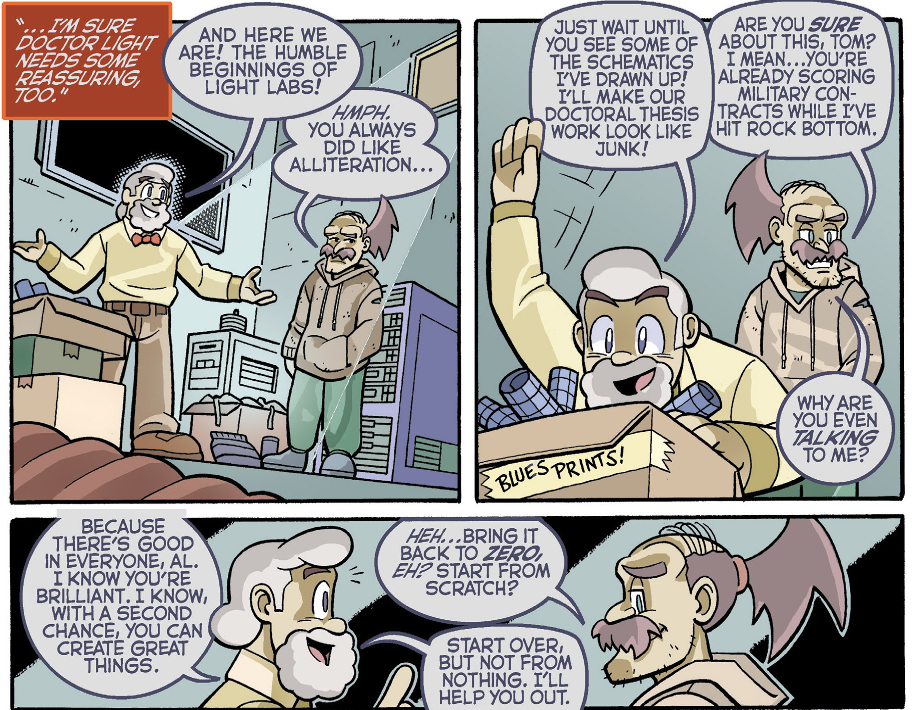 Doctor Thomas Light/Archie Comics