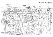 MegaMan NT Warrior - Sketch -1