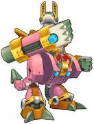 X7 vanishing gungaroo armor 3d