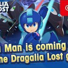 Dragalia Lost - Mega Man Adventurer Intro