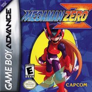 Mega Man Zero US cover