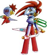 MMZ Cyber-elf Hacker (Knight)