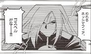 Grave in NT Warrior manga