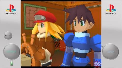 Mega Man Legends 2 PS1 Classic PSVita PSTV Intro