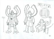 LaserMan.EXE - Sketch 2