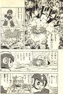 Rockman World 3 (manga) Wily defeated
