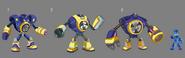 Mega Man Fully Charged Air Man Concept A