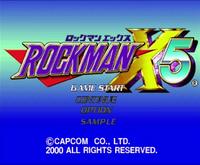 Rockman X5 Prototype