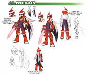 C.F. ProtoMan - Chaud concept art.