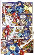 Mega Man X Comic scan