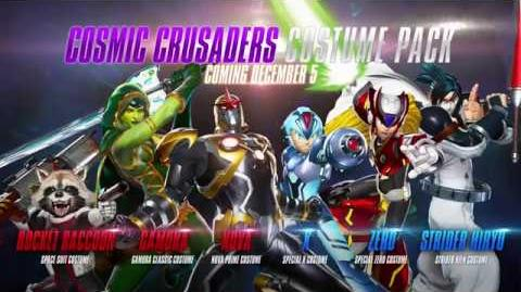 Marvel vs. Capcom Infinite - Cosmic Crusaders Costume Pack