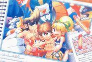 Mega Man friends