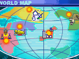 Mega Man Battle Network locations