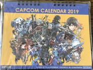 Capcom Calendar 2019