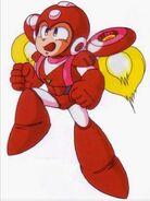 MM6 Jet Mega Man