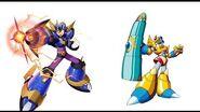 (ロックマンエックスダイブ) Rockman X Dive 9-6 Bit Boss fight (Ultimate Armor X)
