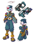 Mega Man Zero 2 Resistance soldier