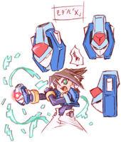 Vent using Model X to transform