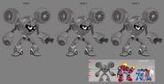 Mega Man Fully Charged Air Man Concept B