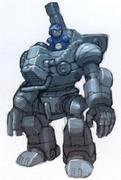 Mega Man X8 Ride Armor concept