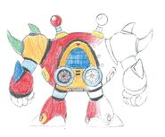 MMX2 Bubble Crab back