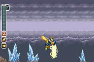 MMZ3 Saber Smash Thunder