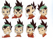 Concept art of Geo - Personality