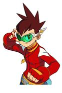Mega man star force dragon art 13