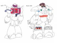 MMX4 Hunters (Zero) back