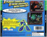 Mega Man X4 (PlayStation) (US) back