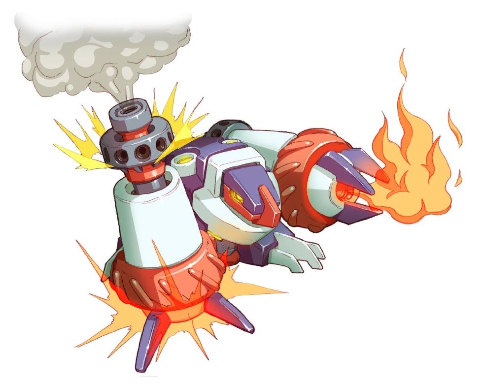 Flammole the Moleroid