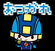 CoroCoro Rockman Sticker 2
