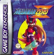 Mega Man Zero EU cover