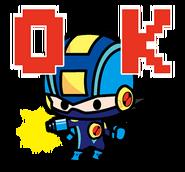CoroCoro Rockman Sticker 1