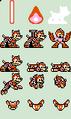 Mega Man (Super Adapter) Sprites of the Rockman 7 FC Extra Editions