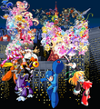 Rockman30th, precure15th all anniversary with hyper dyne side arms by frogstreet13-d62w9nj